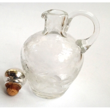 Glass Oil/Balsamic'Dressing Bottle
