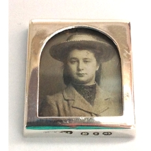 Charming Small Silver Photograph Frame