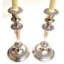 A Pair of 1920's Candlesticks